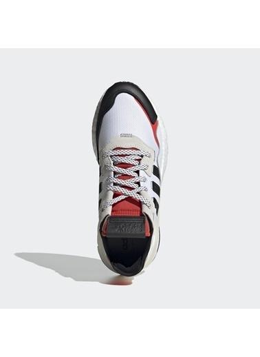 adidas Erkek Nite Jogger Sneakers EH1293 Beyaz